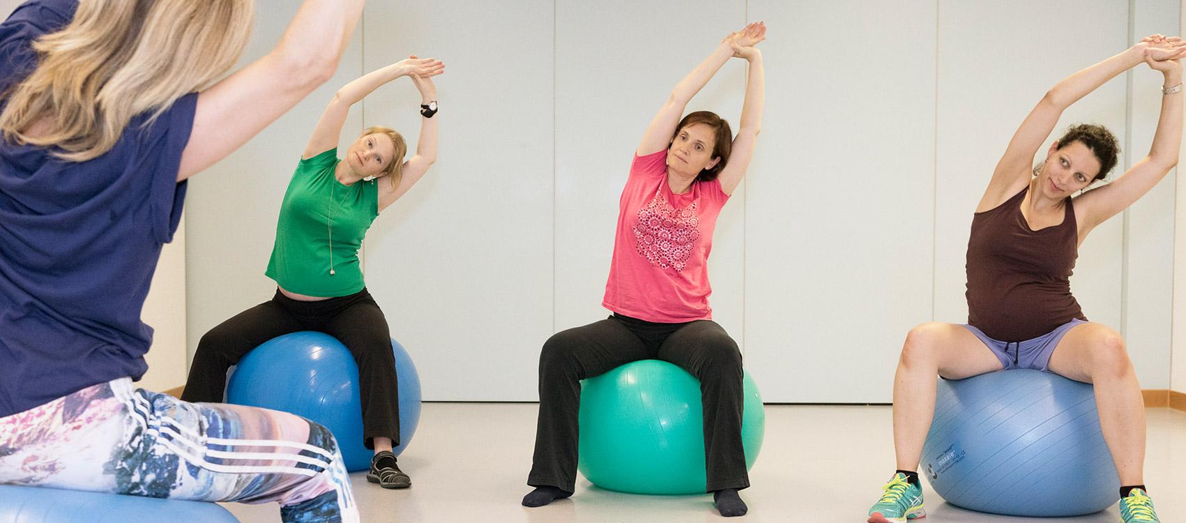 Fitnesskurse für Schwangere