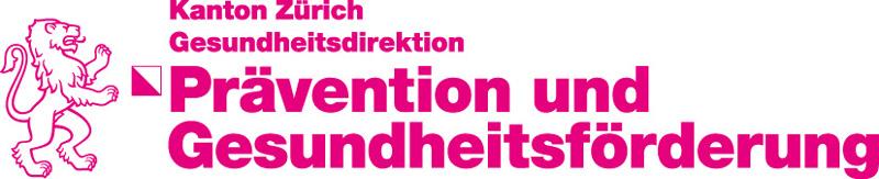 Logo Prävention und Gesundheitsförderung Zürich